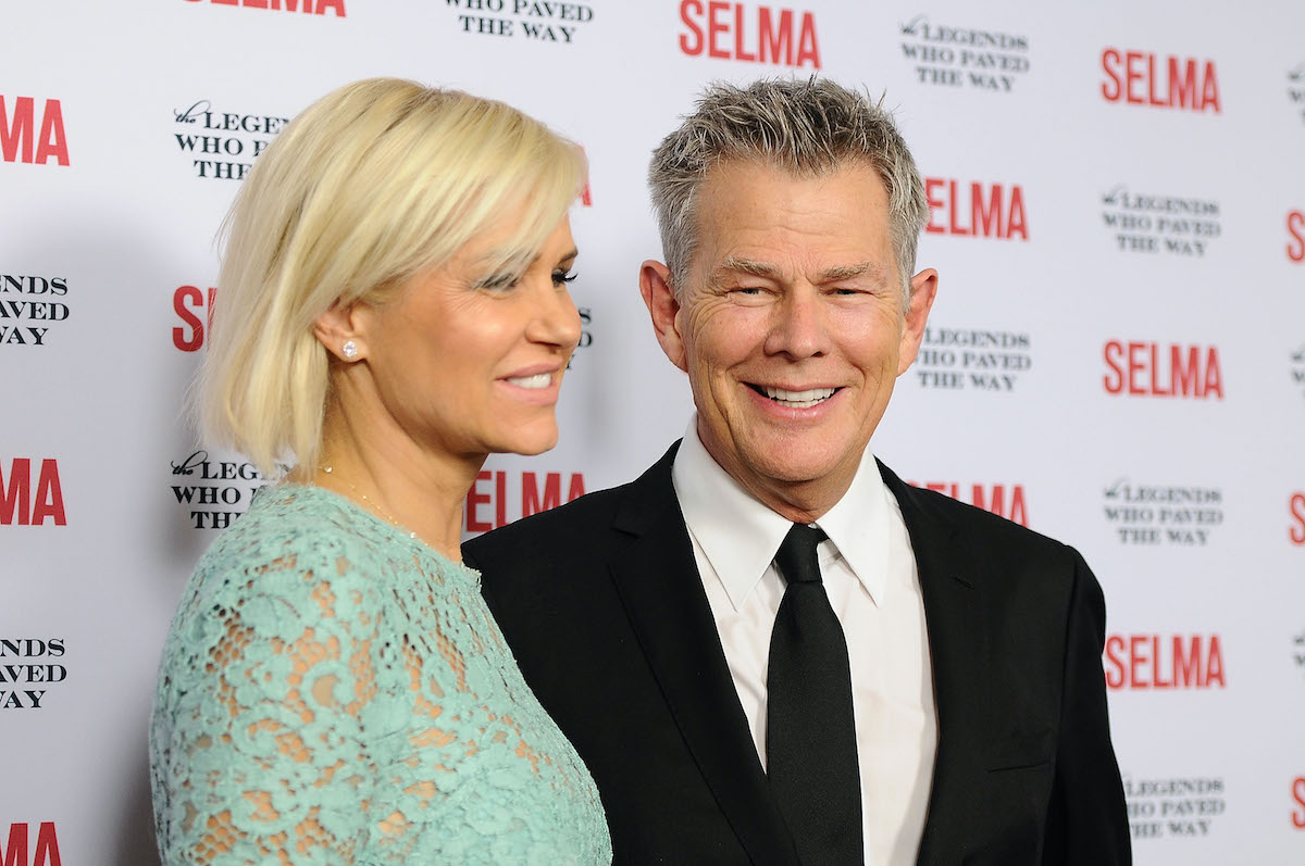Yolanda Hadid and David Foster from 'RHOBH'