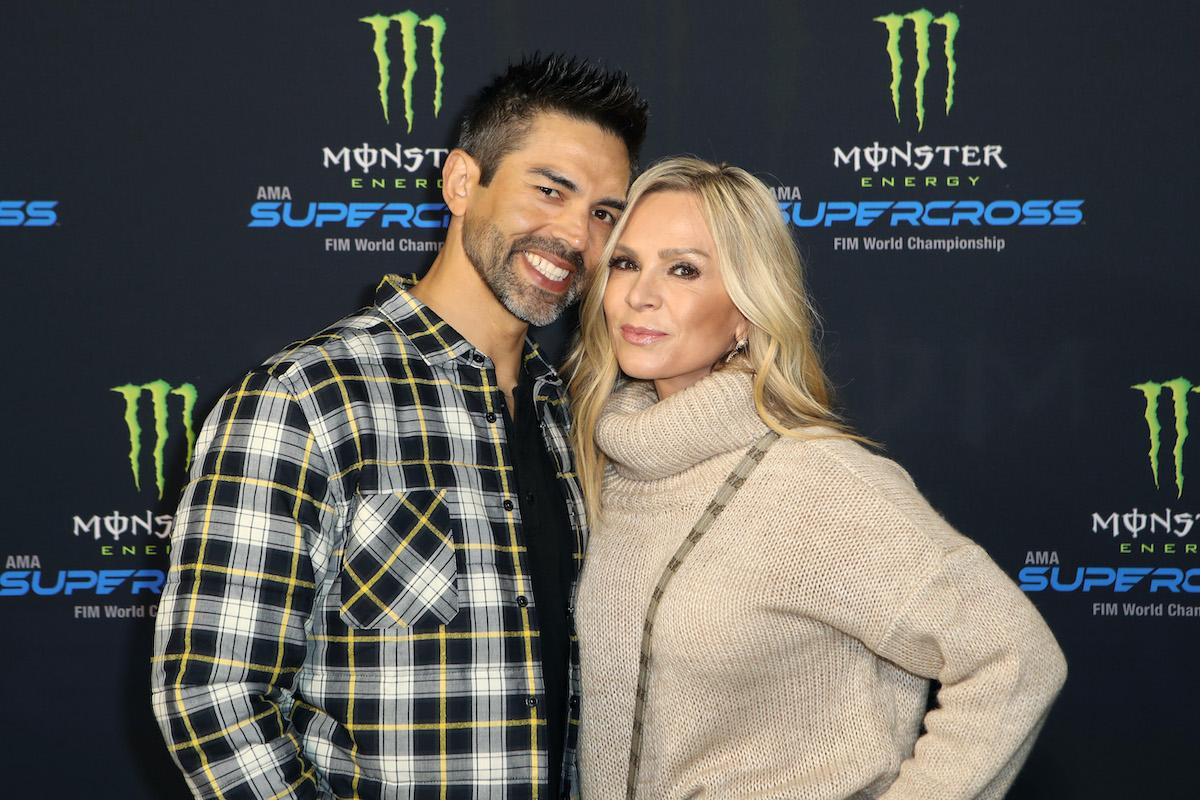 Eddie Judge and Tamra Judge from 'RHOC'