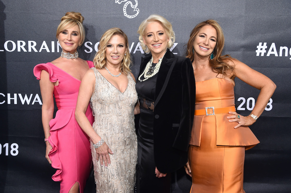 Sonja Morgan, Ramona Singer, and Dorinda Medley, and Jill Zarin