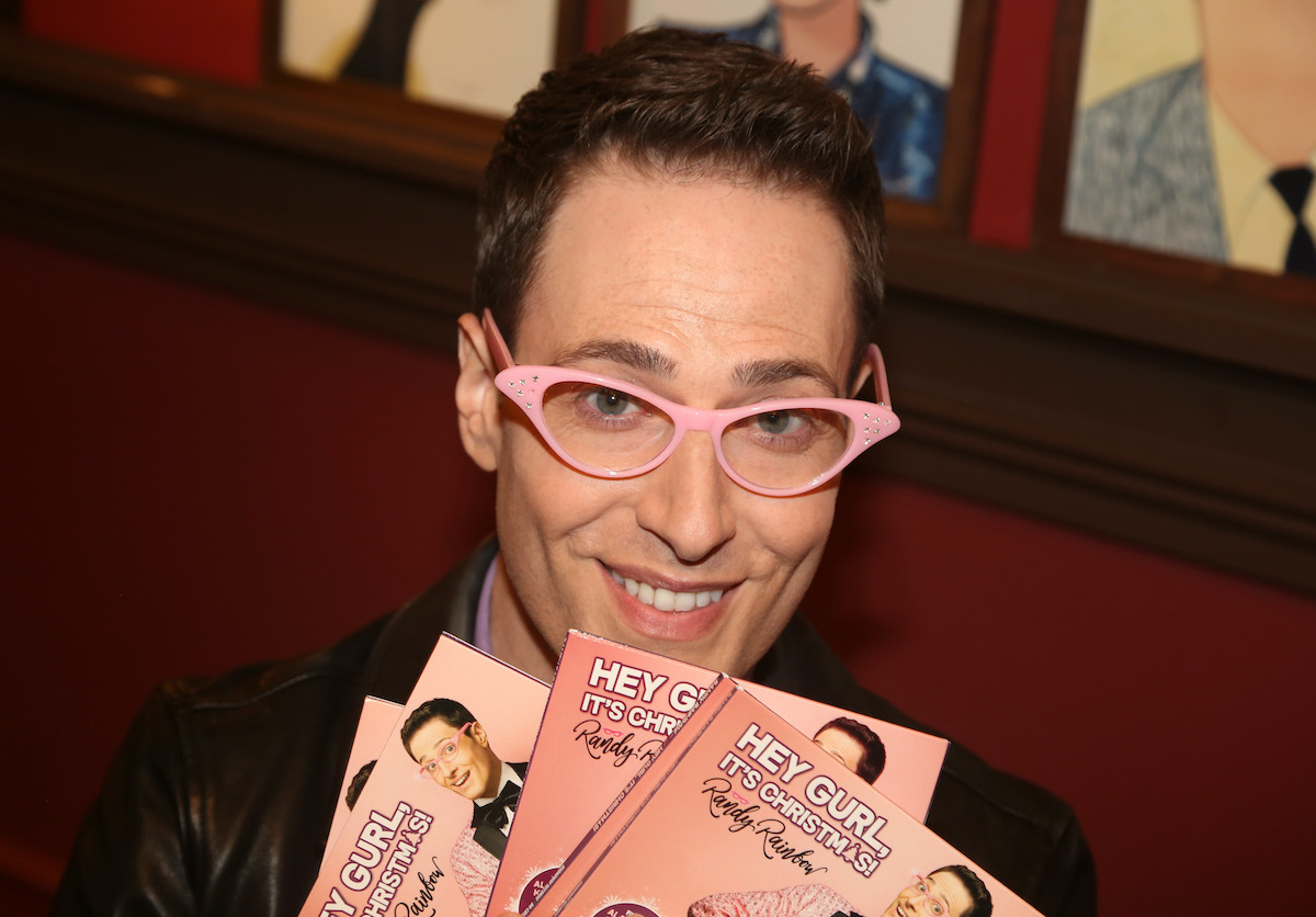 Randy Rainbow celebrates the release of his new Christmas CD 'Hey Gurl, It's Christmas'