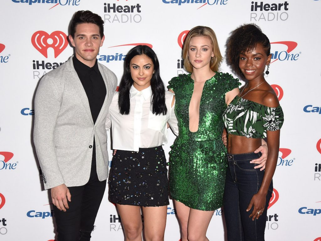 Casey Cott, Camila Mendes, Lili Reinhart and Ashleigh Murray of 'Riverdale'
