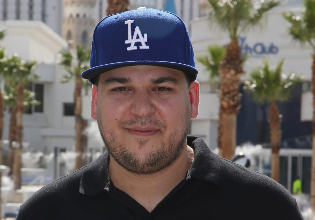 Rob Kardashian at an event