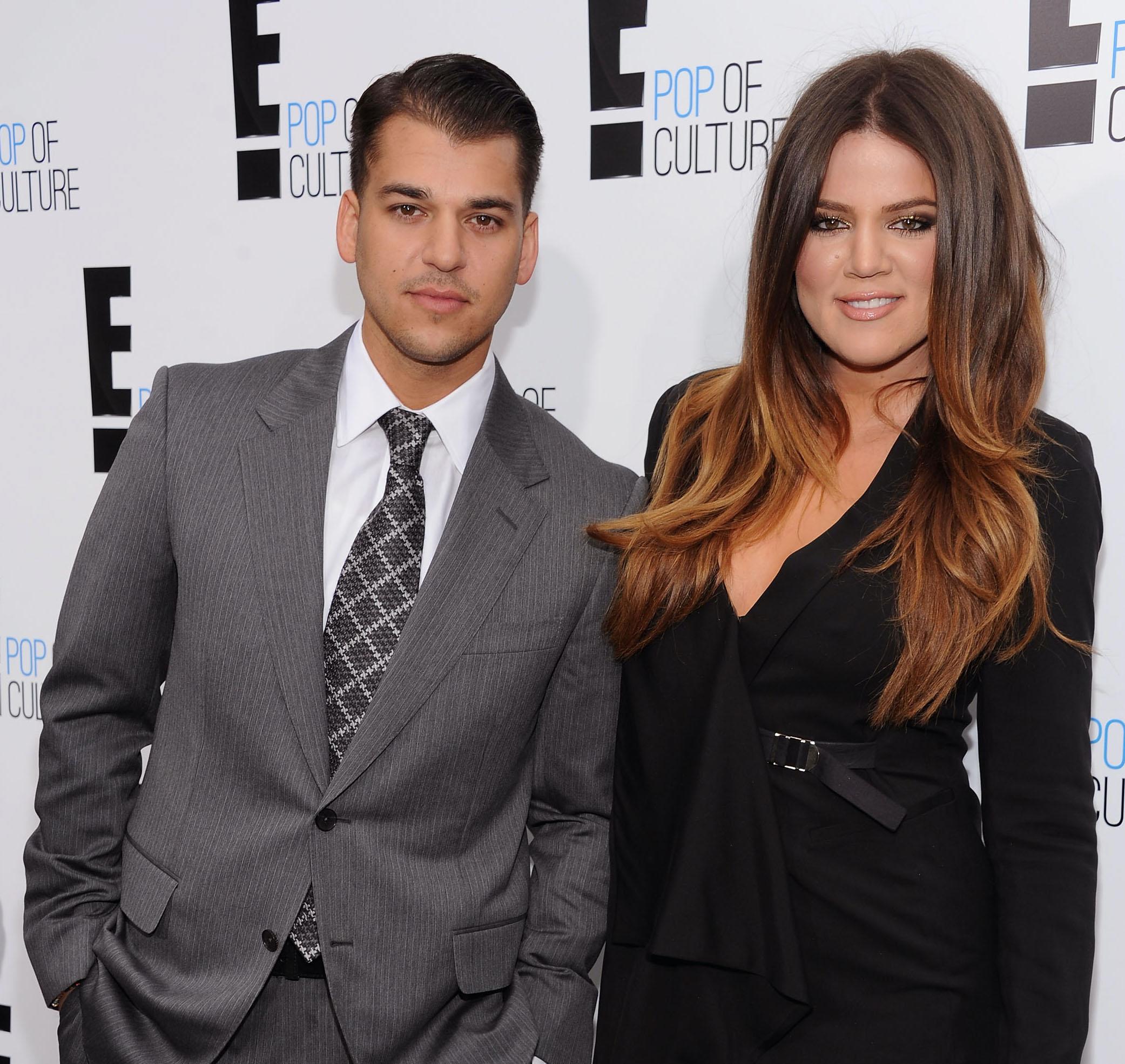 Rob and Khloé Kardashian