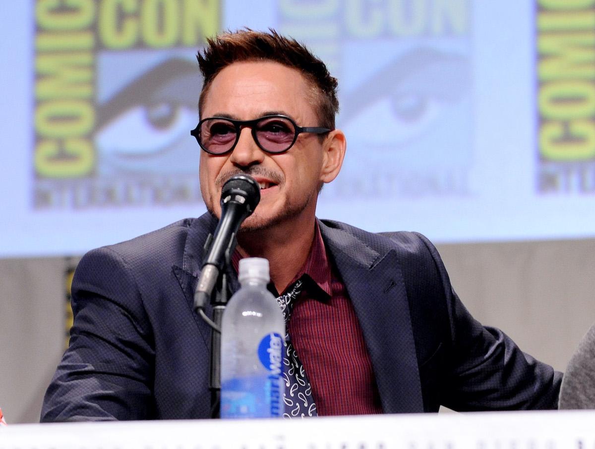 Robert Downey Jr. at San Diego Comic-Con