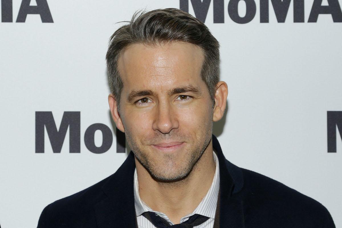 Ryan Reynolds at MOMA