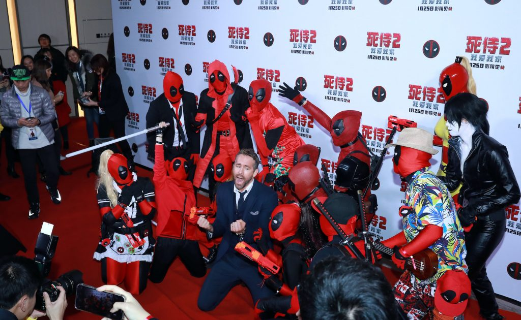 Actor Ryan Reynolds attends the premiere of 'Deadpool 2' at Park Hyatt Hotel. Could we see a Deadpool in the MCU next?