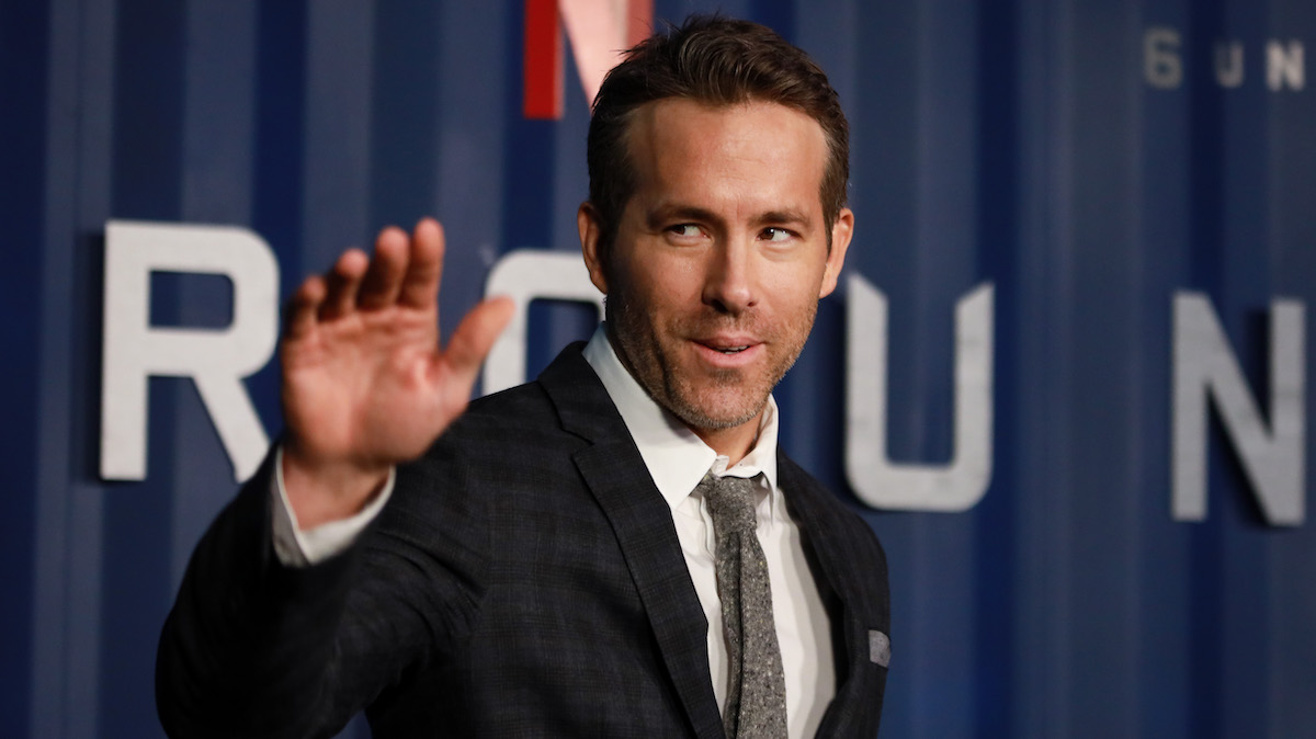 Ryan Reynolds at the '6 Underground' premiere