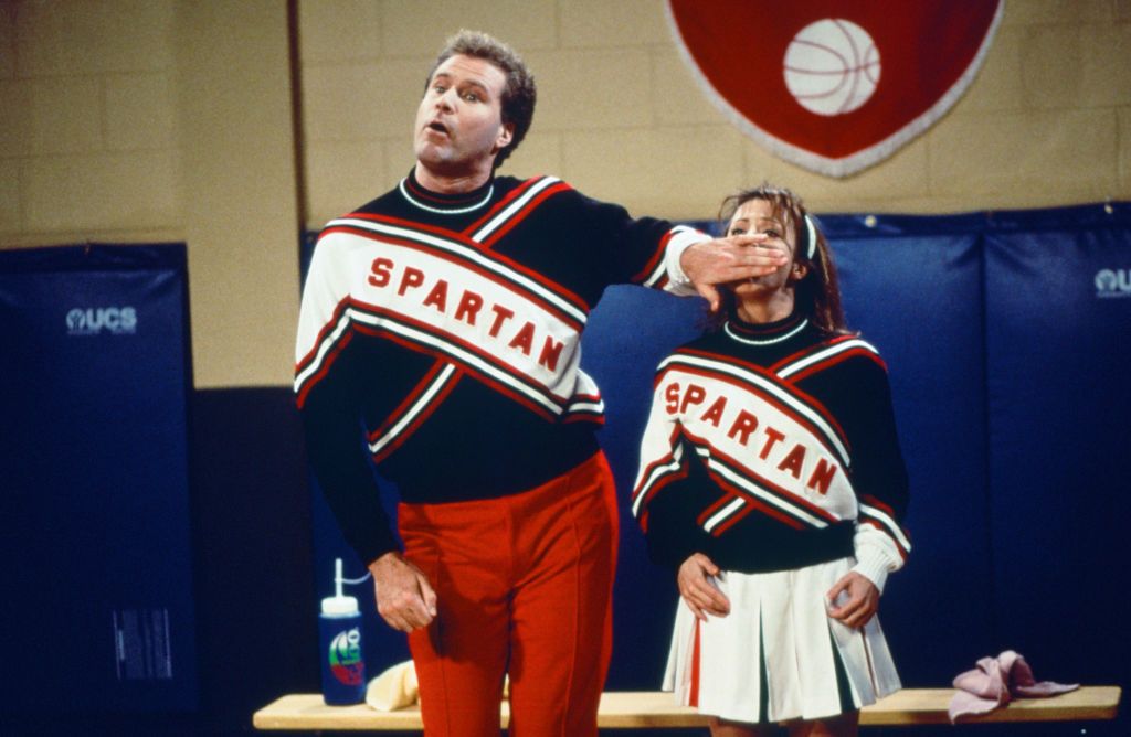 Will Ferrell on Saturday Night Live in 1995