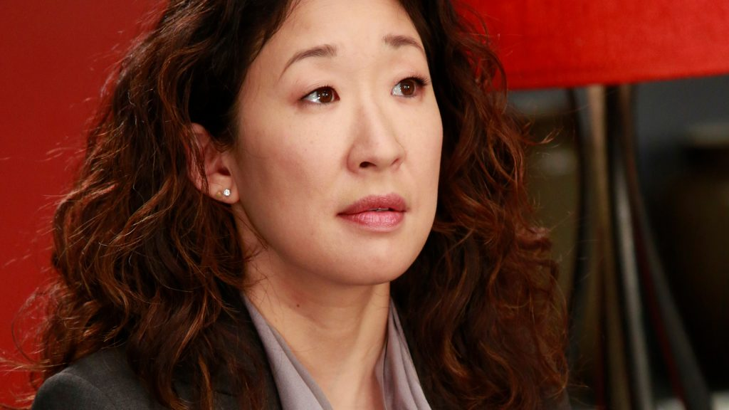Sandra Oh as Cristina Yang on 'Grey's Anatomy' Season 9