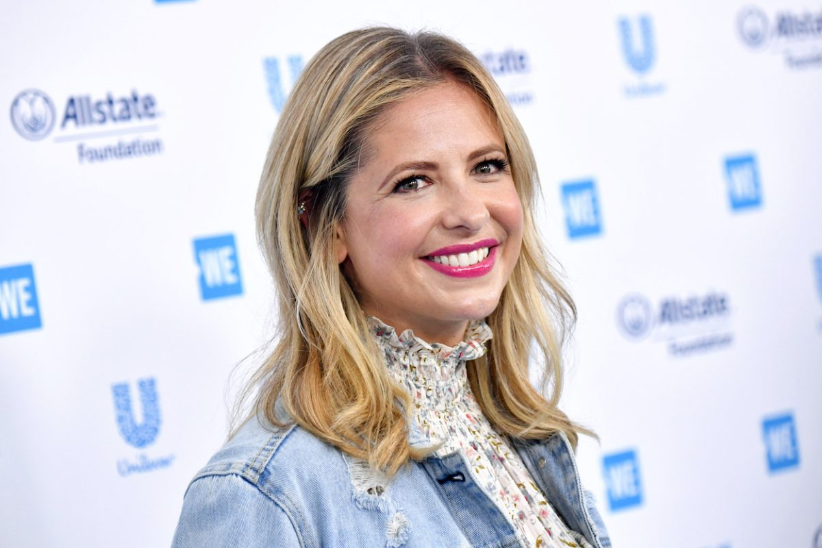 Sarah Michelle Gellar attends 2019 WE Day California