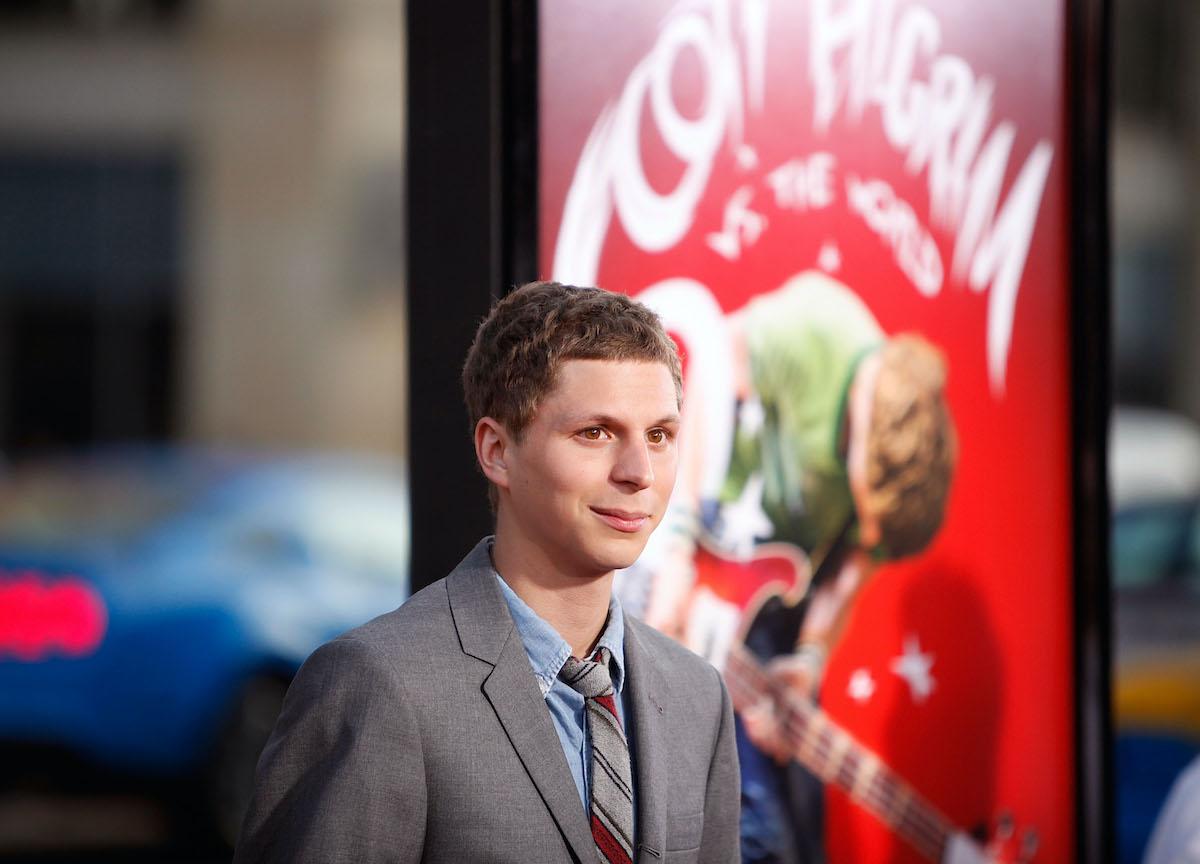Michael Cera at the 'Scott Pilgrim vs. The World' premiere