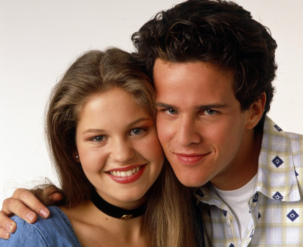 Scott Weigner and Candace Cameron of 'Full House'