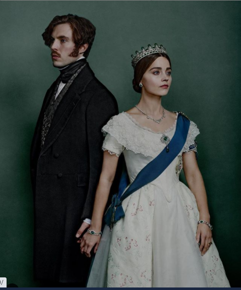 Jenna Coleman and Tom Hughes as Queen Victoria and Prince Albert in 'Victoria'