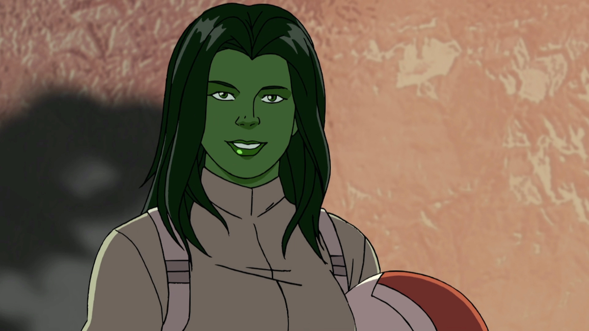 She-Hulk in 'Marvel's Hulk and the Agents of S.M.A.S.H.'