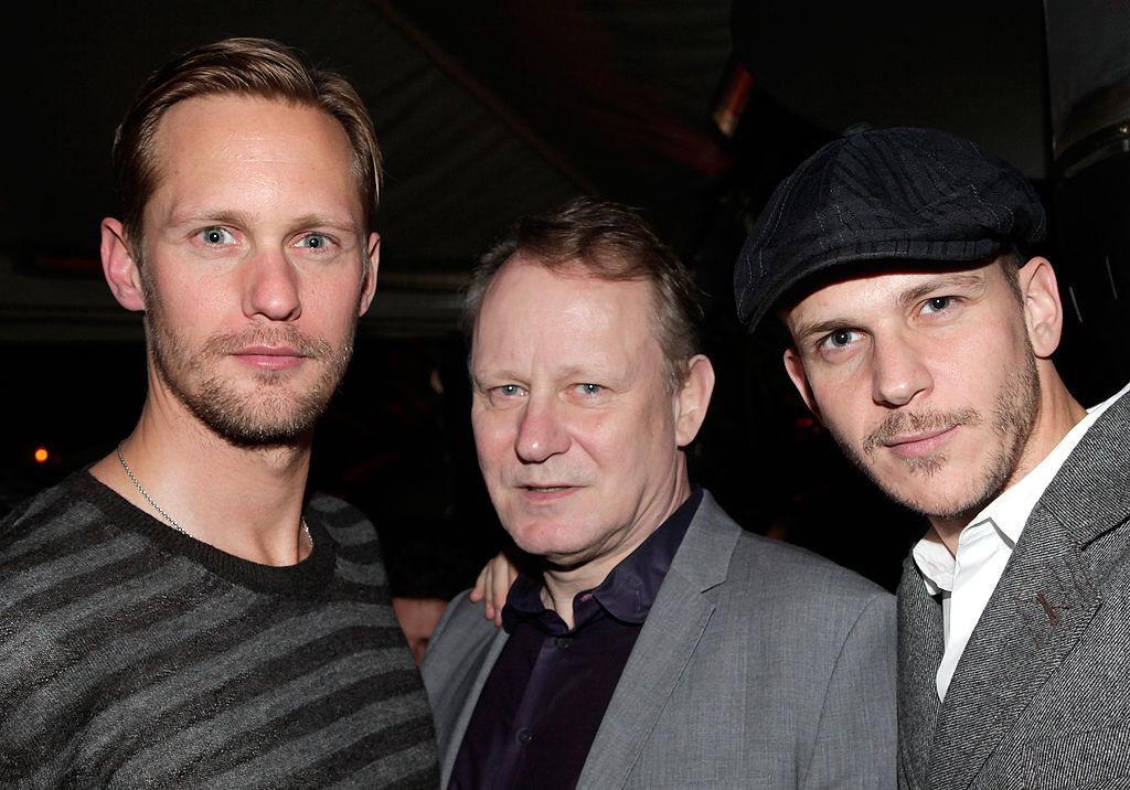 Alexander Skarsgard, Stellan Skarsgard and Gustaf Skarsgard