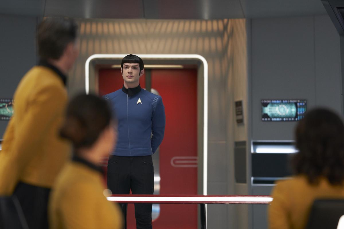 Spock: Ethan Peck
