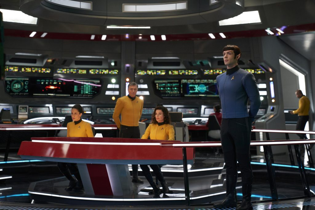 Star Trek: Strange New Worlds crew