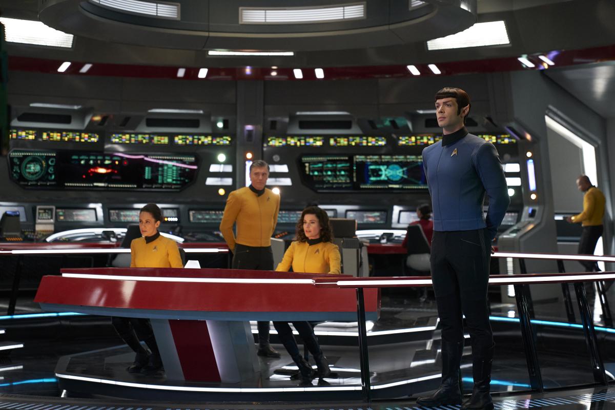 Star Trek: Strange New Worlds crew