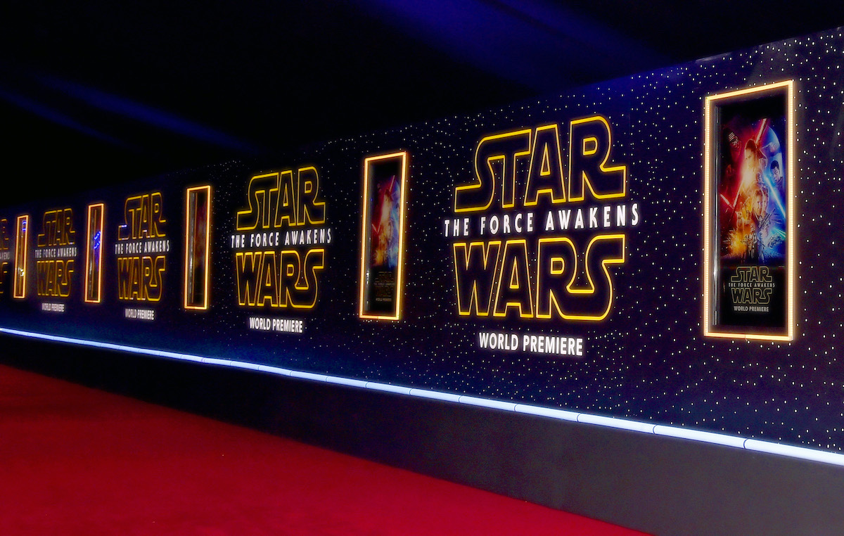 The 'Star Wars: The Force Awakens' premiere