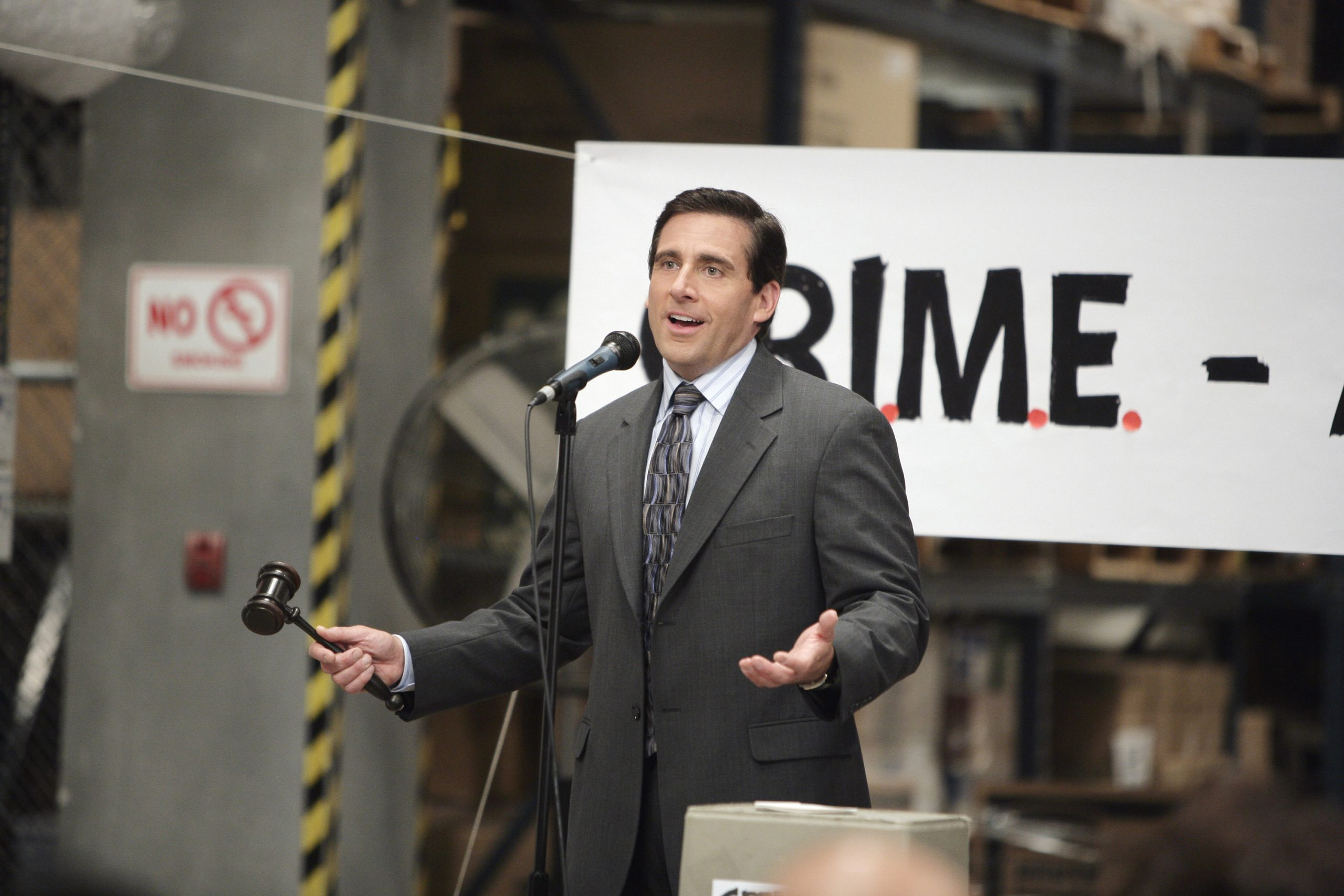Steve Carell as Michael Scott on 'The Office' | Mitch Haddad/NBCU Photo Bank/NBCUniversal via Getty Images via Getty Images
