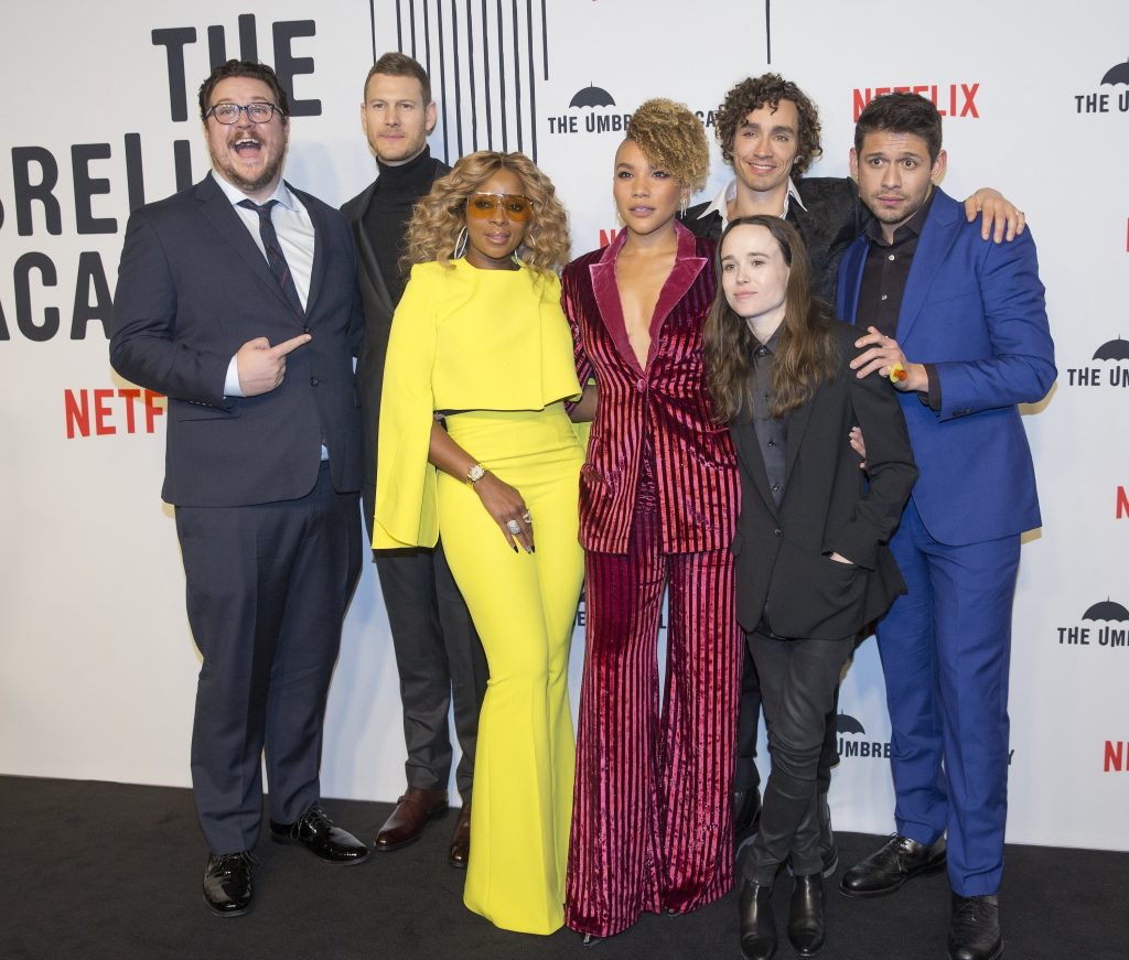 'The Umbrella Academy' Cast
