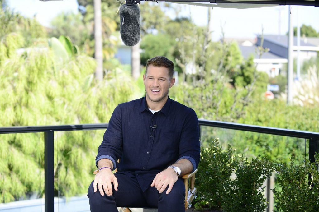 'The Bachelor' star Colton Underwood