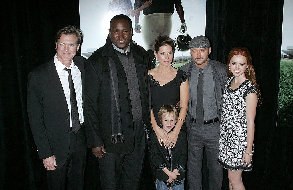 The Blind Side cast