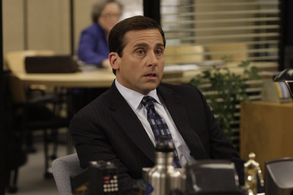 Steve Carell as Michael Scott of 'The Office'