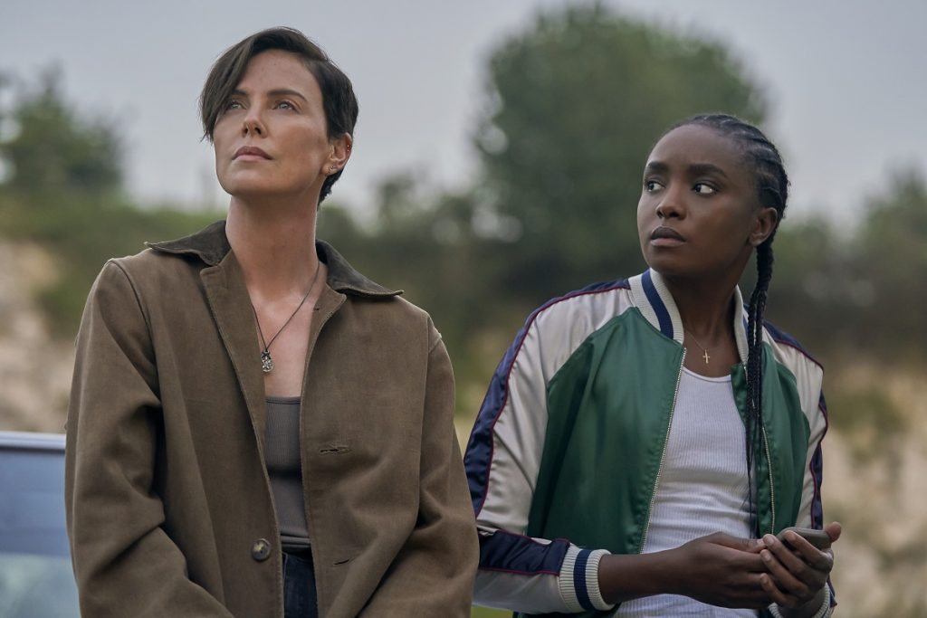 The Old Guard: Charlize Theron and KiKi Layne