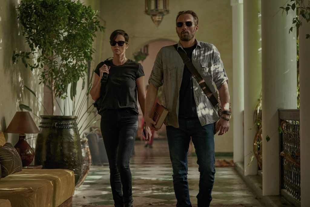 The Old Guard: Charlize Theron and Matthias Schoenaerts