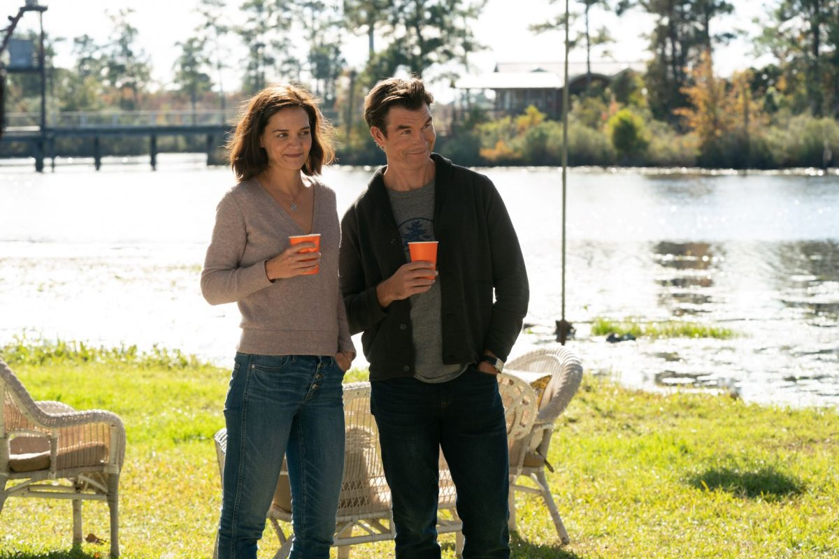 The Secret: Katie Holmes and Jerry O'Connell