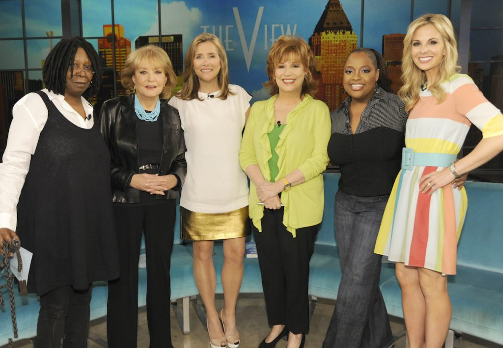 'The View' has had many different co-hosts through the years.