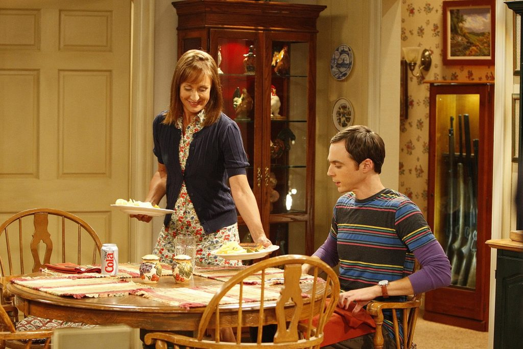 Sheldon Cooper and Mary Cooper