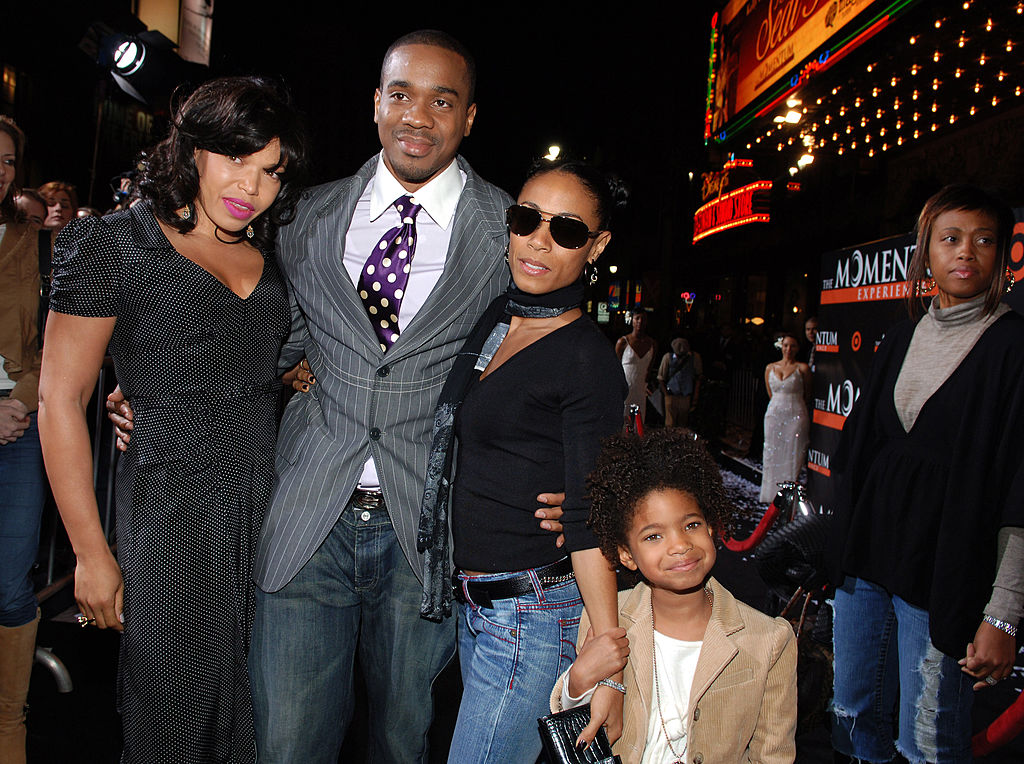 Tisha Campbell Duane Martin Jada Pinkett Smith and Willow Smith