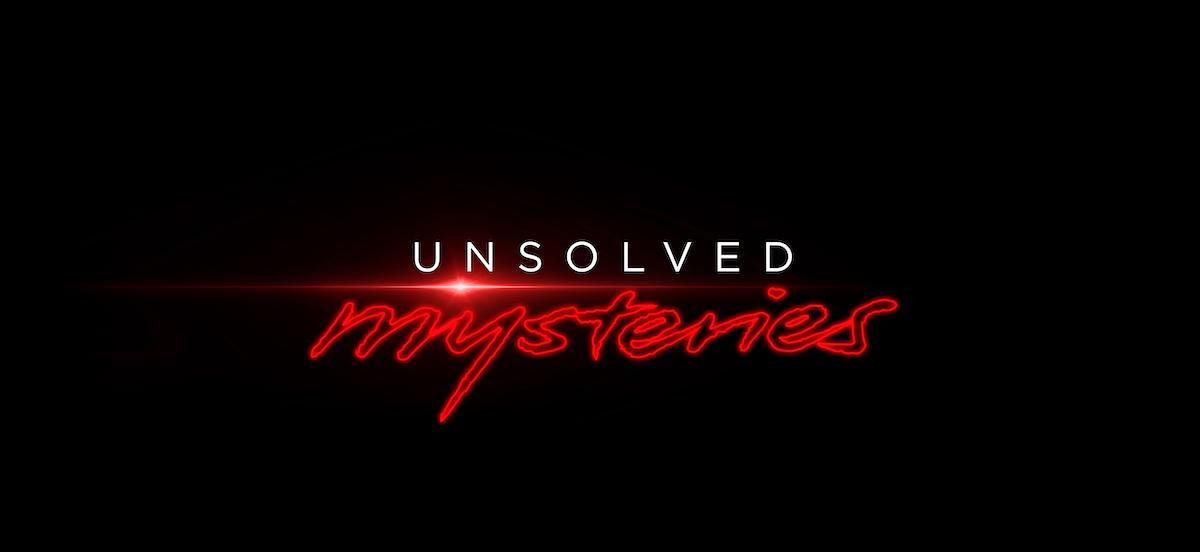 Netflix's 'Unsolved Mysteries' logo