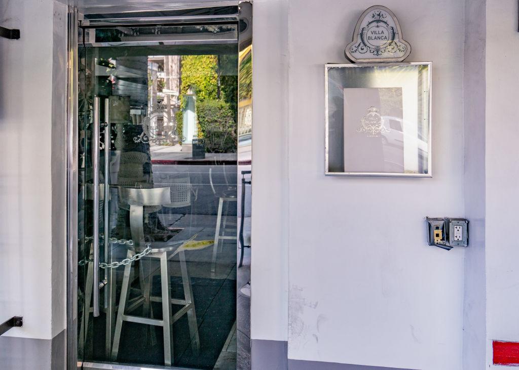 Lisa Vanderpump's restaurant Villa Blanca