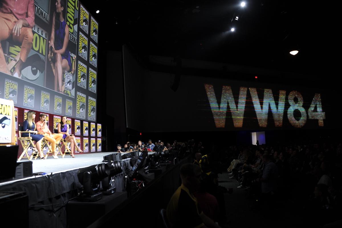 Patty Jenkins, Chris Pine, and Gal Gadot San Diego Comic-Con