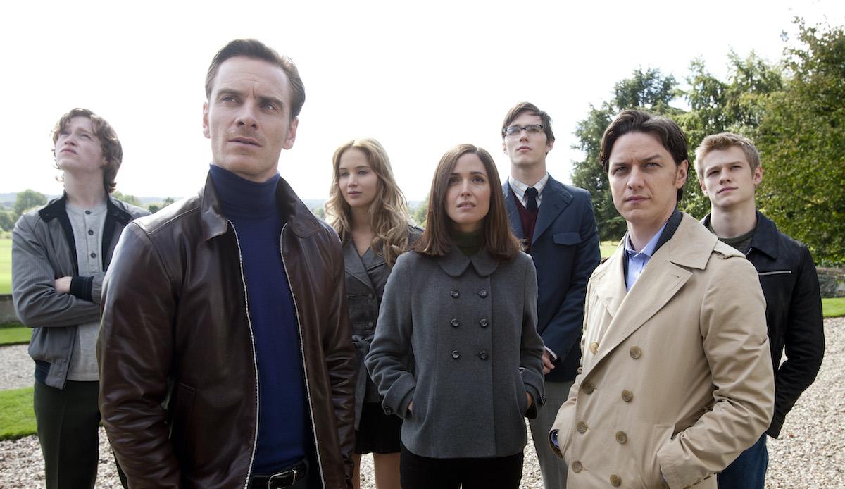 The cast of 'X-Men: First Class'