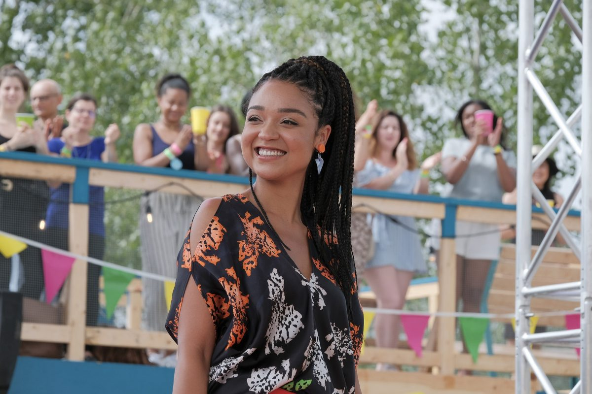 Aisha Dee as Kat Edison in 'The Bold Type'