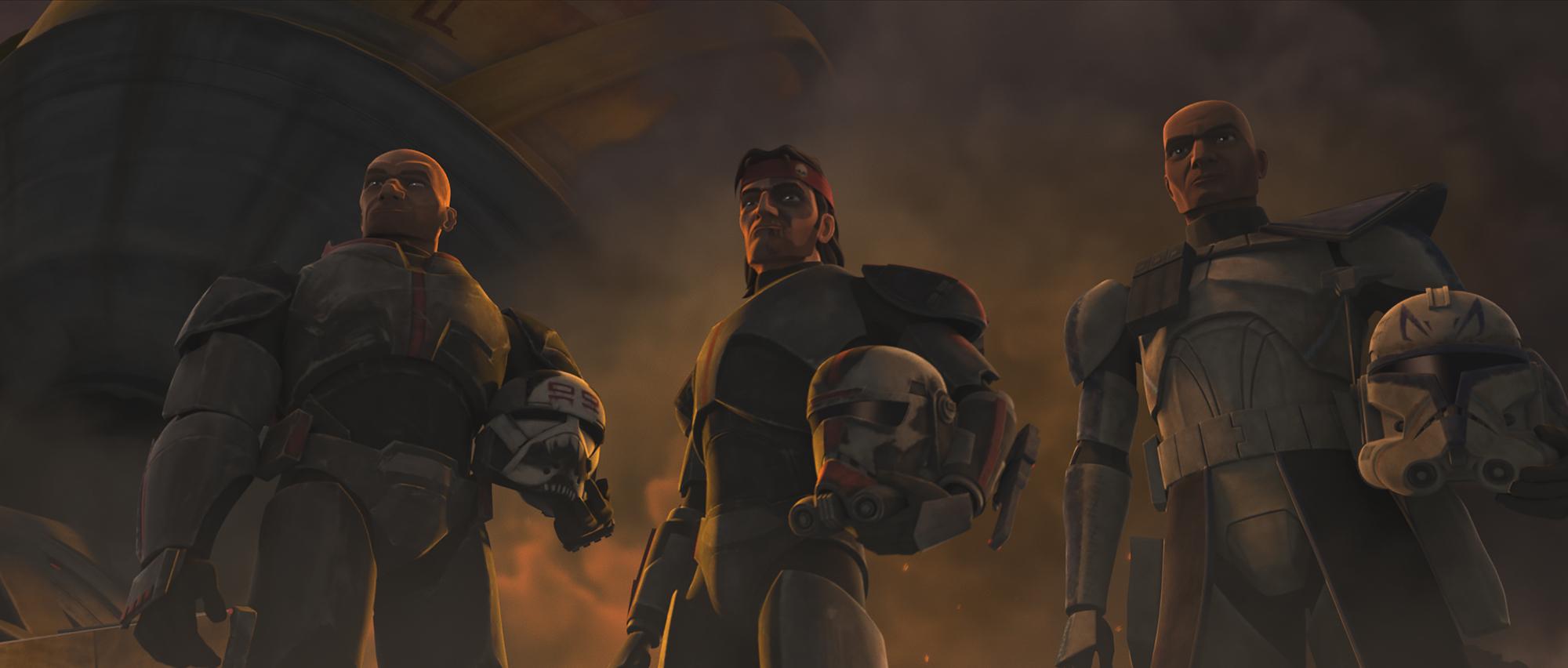 The Bad Batch in Season 7 of 'Star Wars: The Clone Wars'