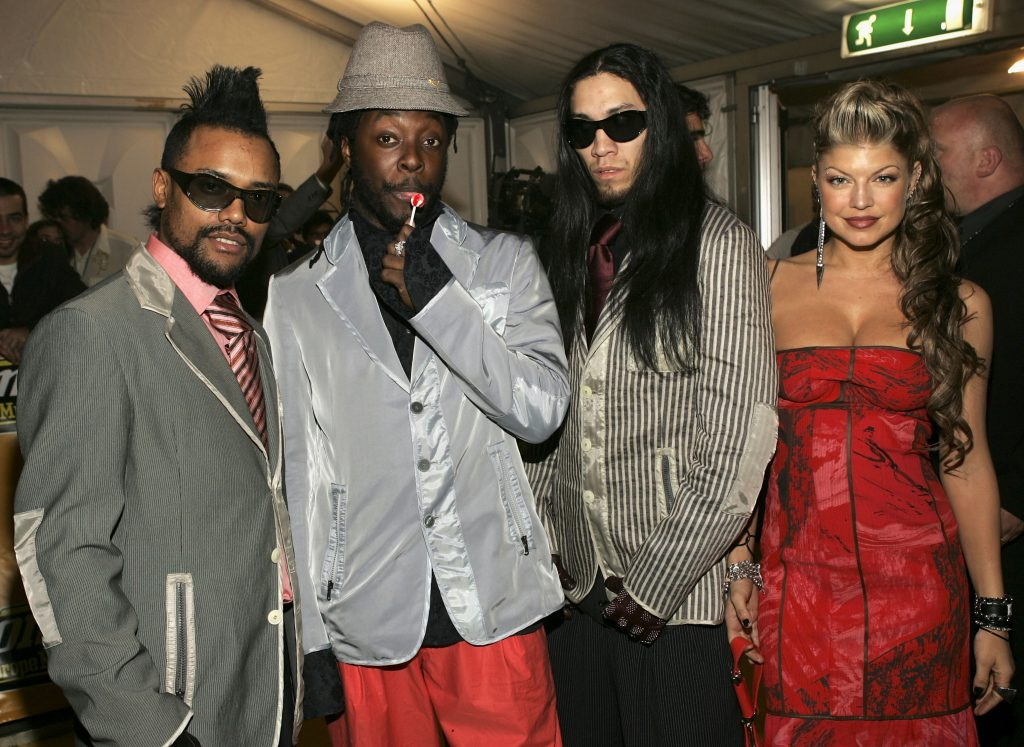 The Black Eyed Peas together