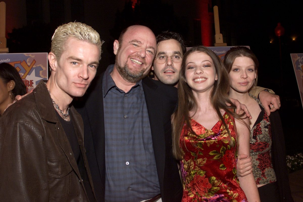 James Marsters, Dean Valentine, Nicholas Brendon, Michelle Trachtenberg and Amber Benson