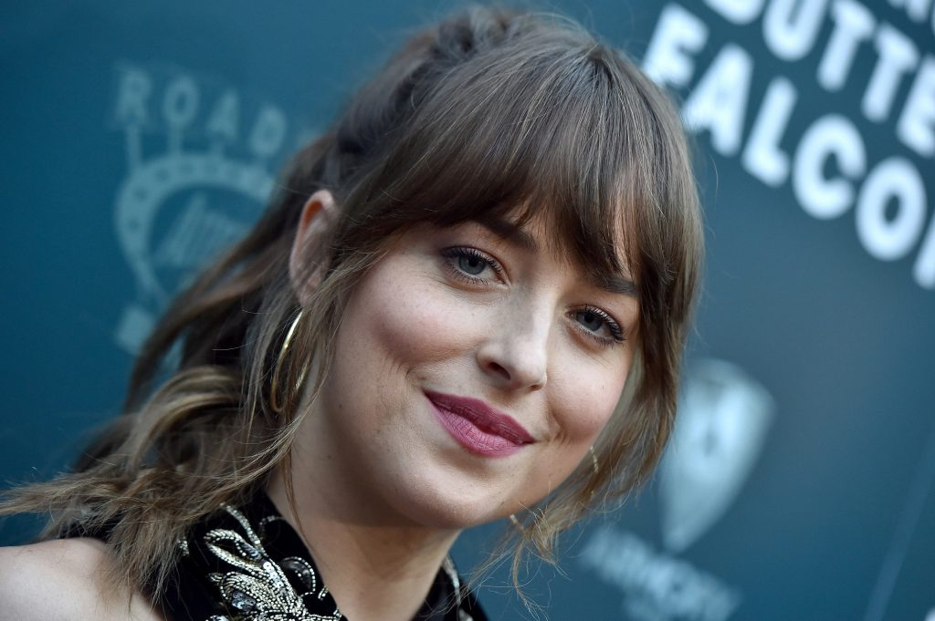 Dakota Johnson attends the LA Special Screening of 'The Peanut Butter Falcon' on August 01, 2019