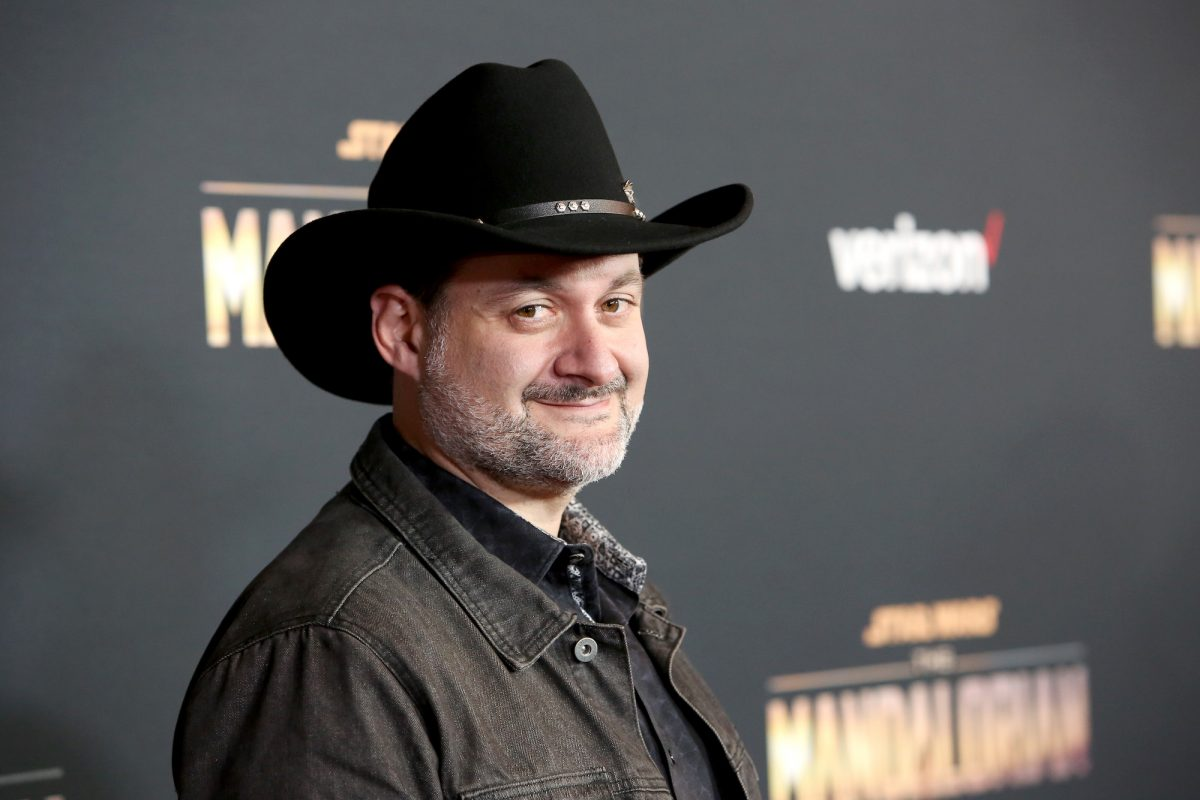 Dave Filoni on the red carpet