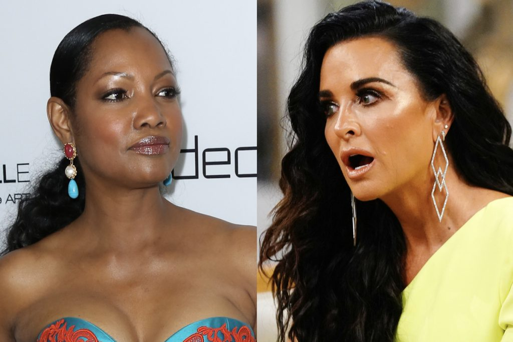 Garcelle Beauvais and Kyle Richards
