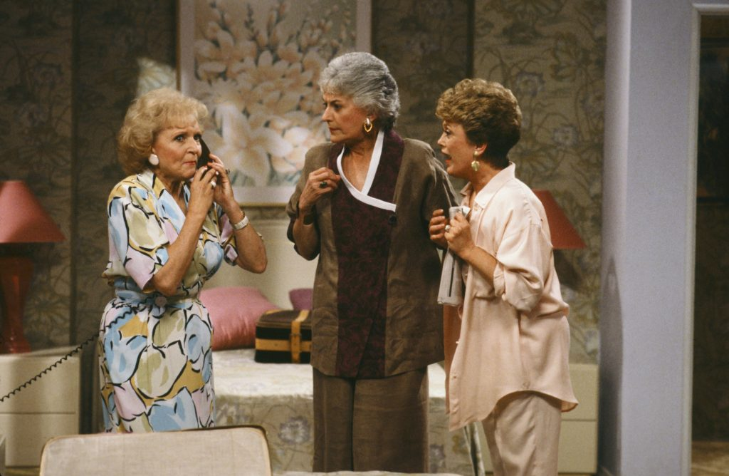 Rose, Dorothy and Blanche in Golden Girls