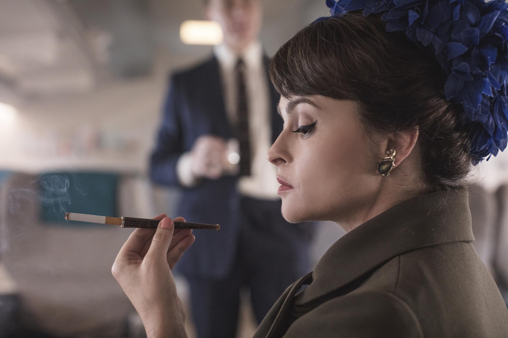 Helena Boham-Carter as Princess Margaret, 'The Crown' Season 3.