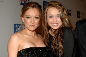 Hilary Duff Says Miley Cyrus 'Kind of Embarrasses Me,' But Calls Her 'the Epitome of Cool'