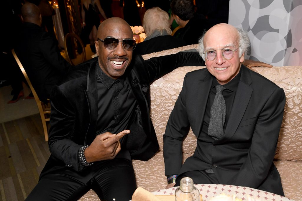 J.B. Smoove and Larry David of Curb Your Enthusiasm