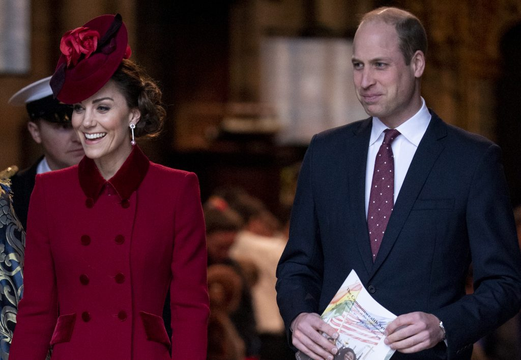 Prince William and Kate Middleton attend the Commonwealth Day Service 2020